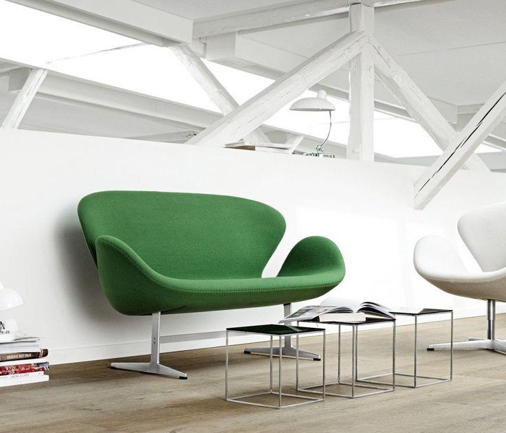 Großartig Sofá Swan, Arne Jacobsen, 1958 Sofá Swan Assim Como A Poltrona Swan E  Poltrona