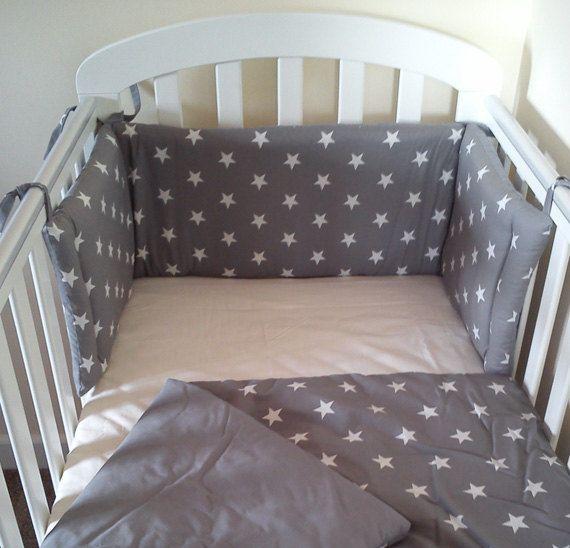 Star Cot Bed Mini Crib Bedding Set Per And By Siennachic 64 99
