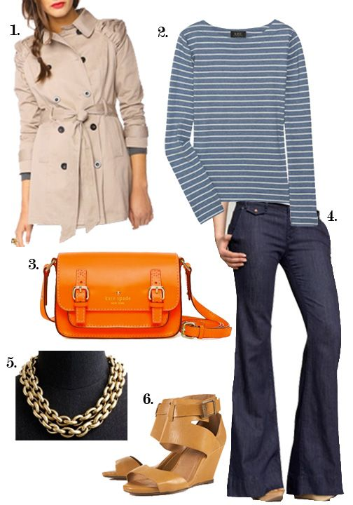 what color clothes look good with an orange purse - Google Search