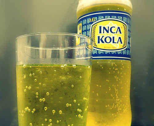 Inca Kola- great foods from Peru!
