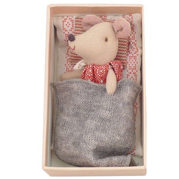 Maileg Little Sister Mouse in a Box, USA.  1980 руб.  куплен в Швейцарии.