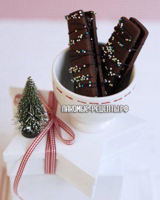 Праздничное печенье с Nutella