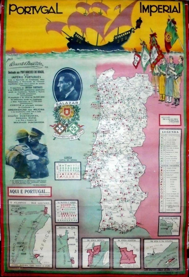 Portugal Imperial Estado Novo 1941                                                                                                                                                                                 Mais