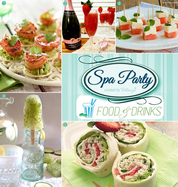 Best 25+ Spa Party Foods Ideas On Pinterest