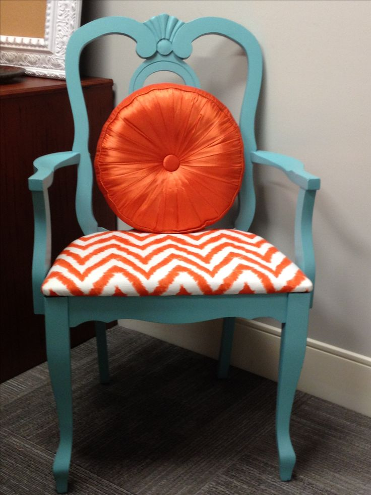maybe something like this for a repurposed dining room chaira more muted - Dorm Room Chairs