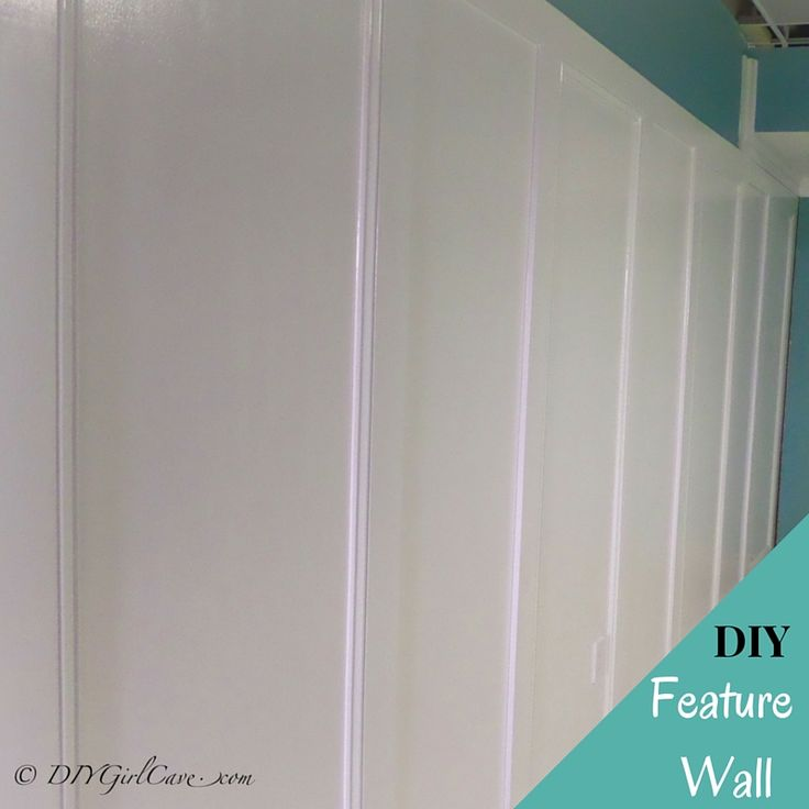 My Feature Wall Design project is ready to share and there is a secret element you won't want to miss!