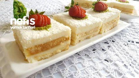 İki Kat Lezzetli Etimek Pastası