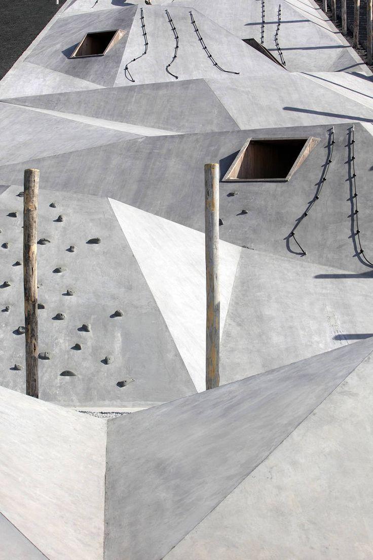 Gliarchitetti olandesi Carve e Omgeving insieme alla societàKrinkels, hanno vinto il concorso internazionale per la progettazione di un parco giochi e un