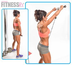 Sexy Shoulders -Develop your delts for an hourglass shape [ Waterbabiesbikini.com ] #fitness #bikini #elegance