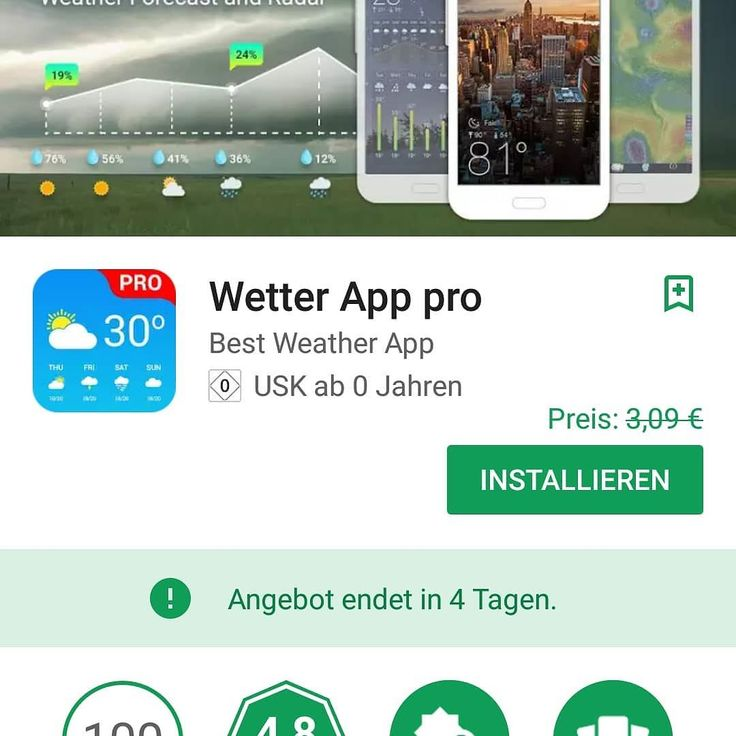 [ APP ] Wetter App pro for Free noch ca 4 Tage!  http://ift.tt/2DcxF2Q  Mehr zum Thema #android findest du auch auf meinem Blog:  http://ift.tt/2igY1oL  #android #androidonly #google #photography #instapic #googleandroid #droid #instandroid #instaandroid #instadroid #instagood #ics #samsung #samsunggalaxys7 #samsunggalaxyedge #samsunggalaxy #phone #smartphone #mobile #androidography #androidographer #androidinstagram #androidnesia #androidcommunity #teamdroid #teamandroid @online_blogger_