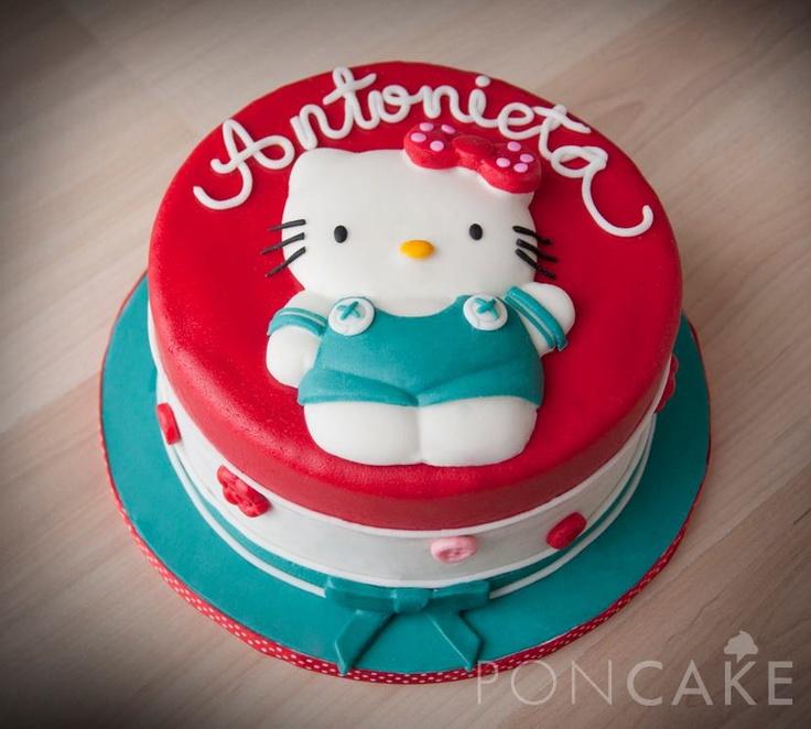 Hello Kitty Cake - Torta de Hello Kitty Cakes for Girls ...