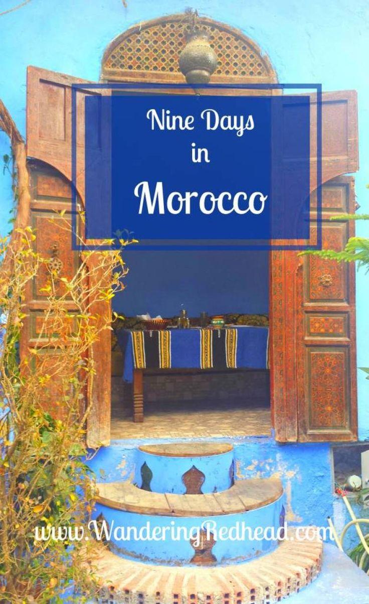Nine Days in Morocco