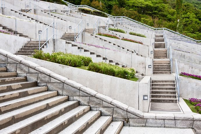 Awaji Yumebutai International Conference Center by Tadao Ando