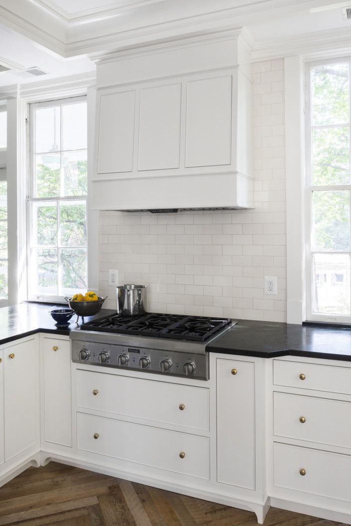 Pin by p r t on kitchen pinterest white cabinets for White inset kitchen cabinets