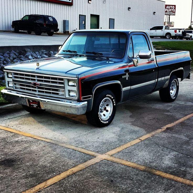 1986 Gmc Sierra For Sale: De 25+ Bedste Idéer Inden For Chevrolet Silverado På
