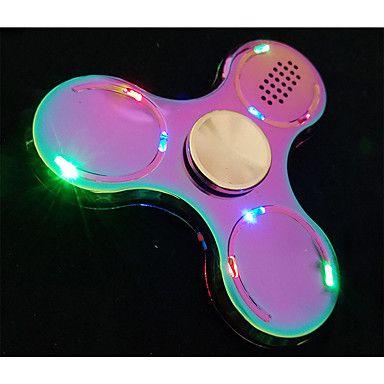 Handspinners Hand Spinner Leksaker Tri-Spinner LED Spinner Metall EDCBluetooth högtalare Stress och ångest Relief Office Desk Leksaker 5911433 2017 – Kr.111