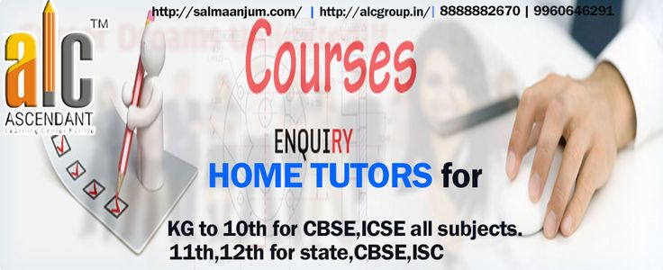 #ASCENDANTLEARNINGCENTERPVTLTD has been functioning in the arena of #Coaching and #HomeTuition,  #HOMETUTOR  for all subjects, Get connect with ALCGROUP We are available on 9960646291/8888883470/8888882670