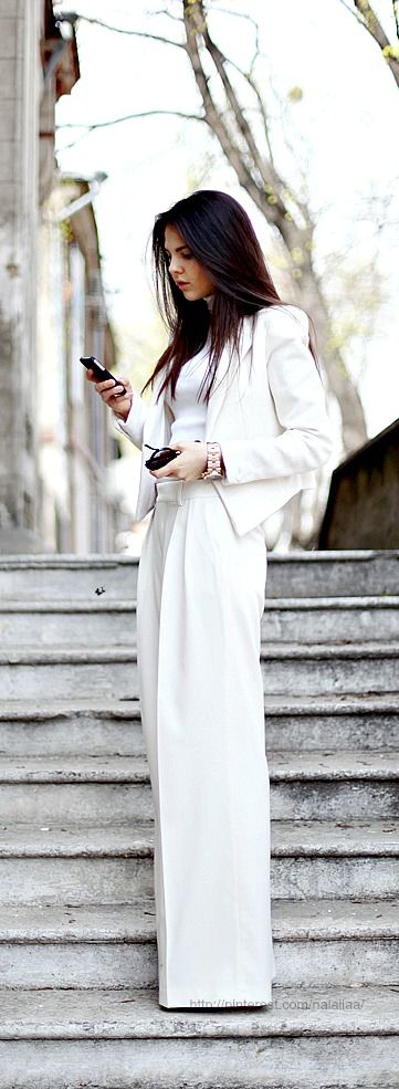 Street style | All White