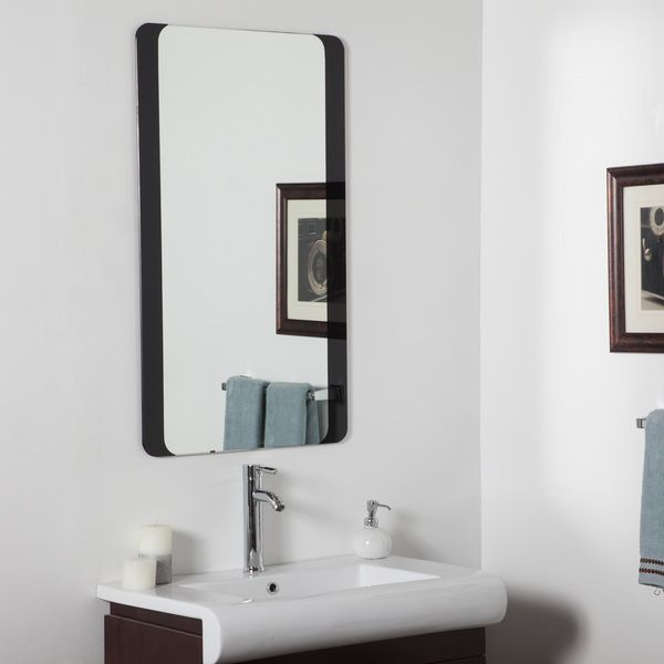 Ideas For Decorating A Large Bathroom Mirror: 1000+ Ideas About Large Bathroom Mirrors On Pinterest