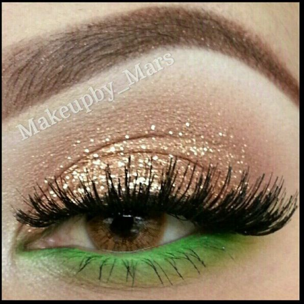 Makeup by Mars for Tinkerbell costume!