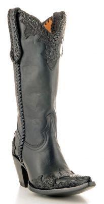 Womens Old Gringo Julian Boots Black #L551-2 - $609.99