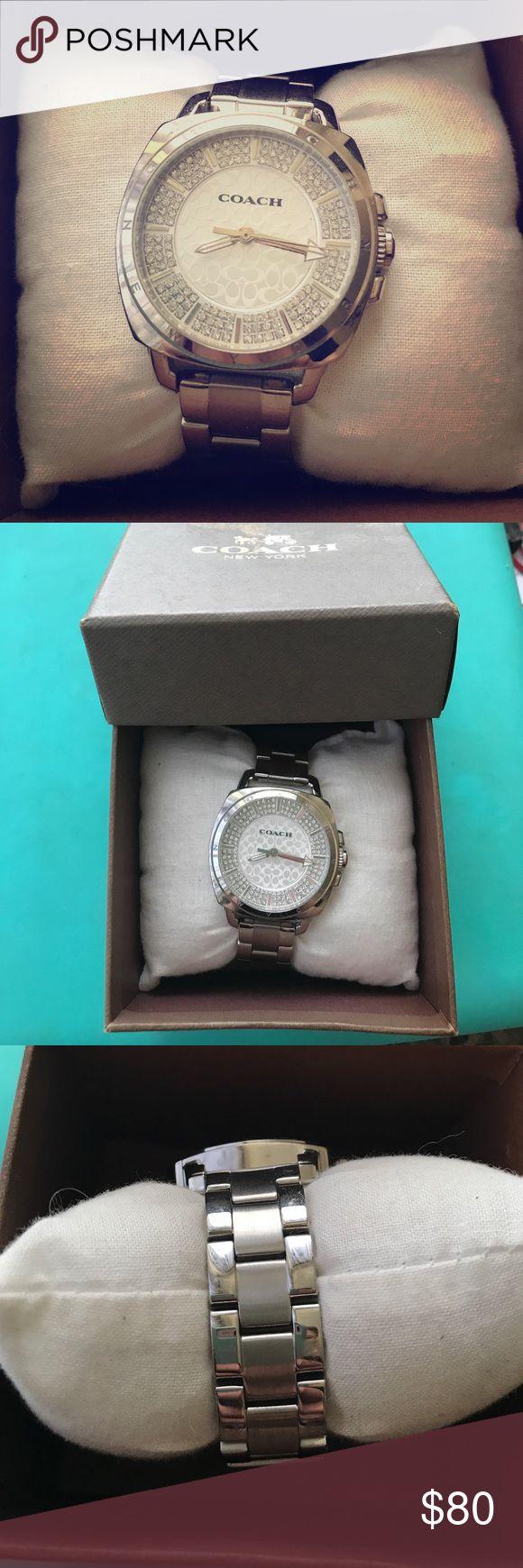 Coach watch, never worn Coach watch in original box. Never worn, perfect condition. Coach Accessories Watches