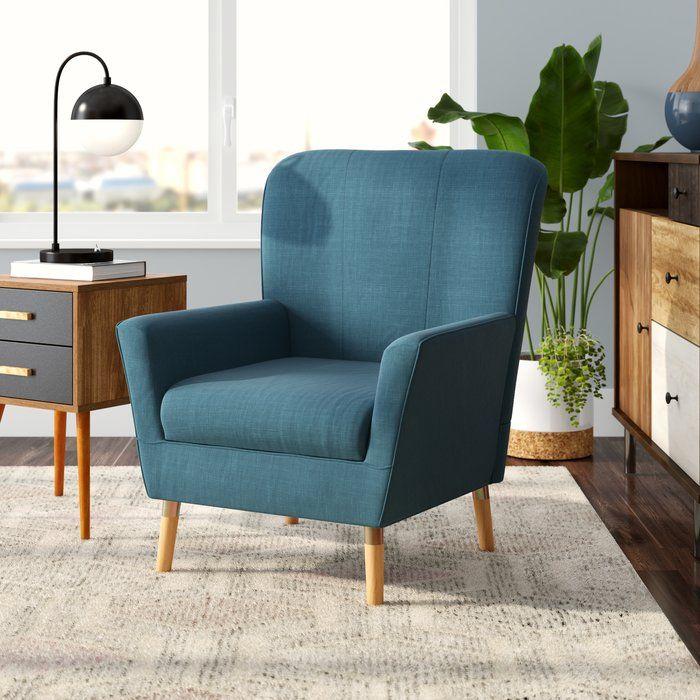 Langley Street Tatum Armchair Reviews Wayfair Furniture Comfy Living Room Furniture Accent Chairs