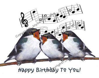 Happy birthday songbirds.