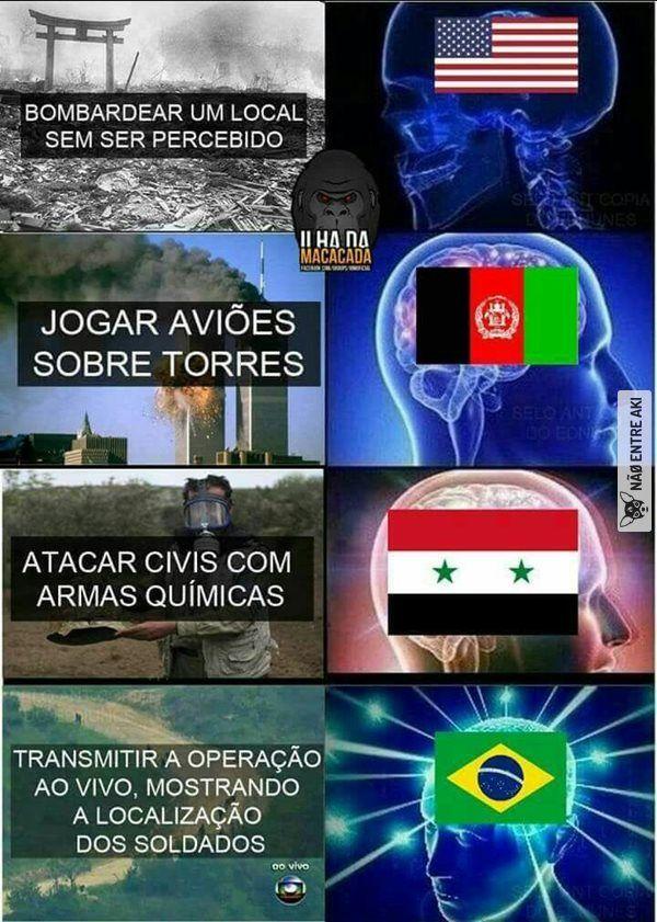 Brasileiro eh outro nível