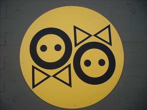 shigeo fukuda s restroom signs. 200 best Restaurant Bathrooms images on Pinterest   Bathroom signs
