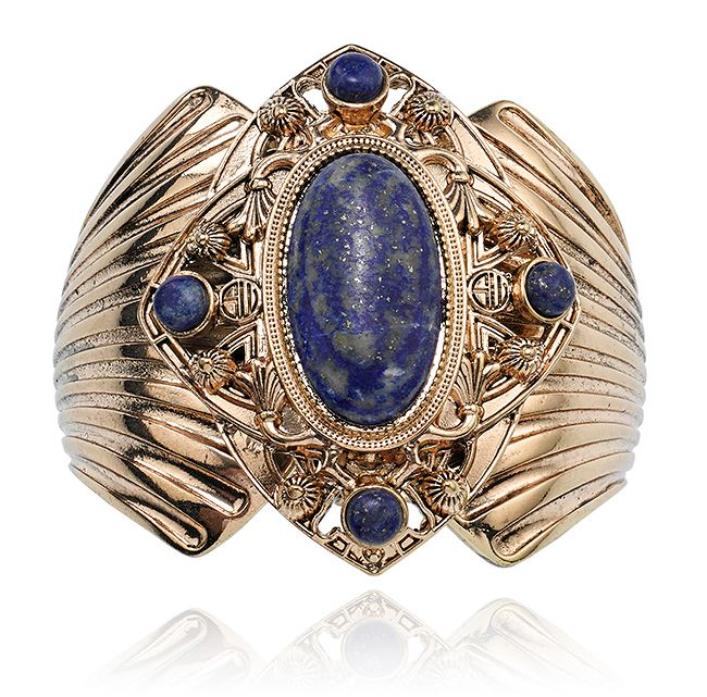 SAMANTHA WILLS - MIDNIGHT SKIES CUFF - LAPIS