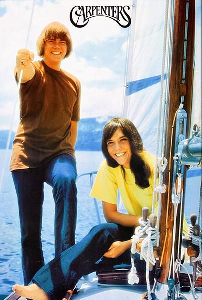 The Carpenters - 1971 - Band Promotional Poster