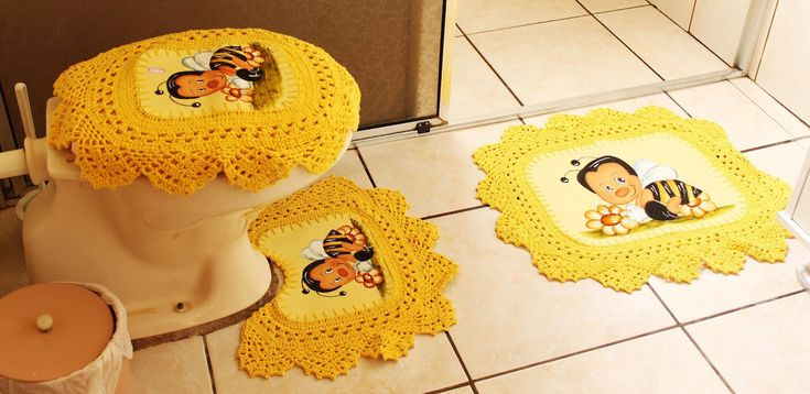 Lenceria De Baño En Crochet:1000+ images about juegos de baño primavera on Pinterest