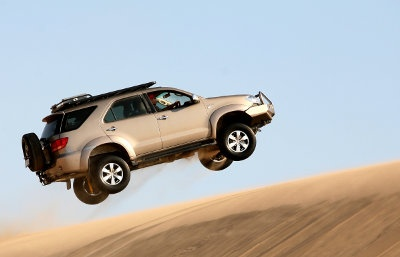 The Toyota Fortuner the robust comfortable SUV, that will keep the wild outdoor within you reach