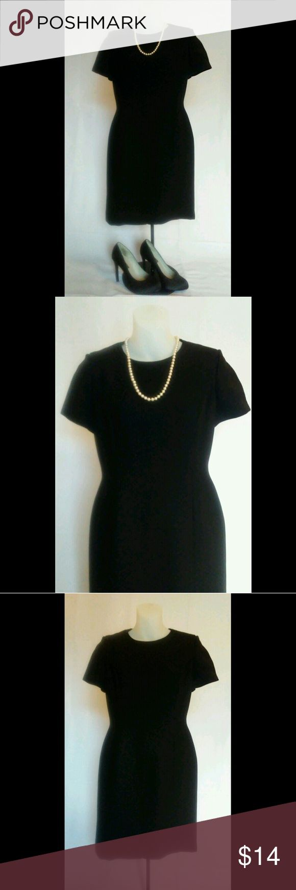 Vintage Inspired Little Black Dress Jackie O would have been proud to wear this little number. This dress is the definition of how conservative can still be sexy! Even though it provides full coverage it hugs your curves and shows off those legs! Petite Sophisticate Dresses Mini