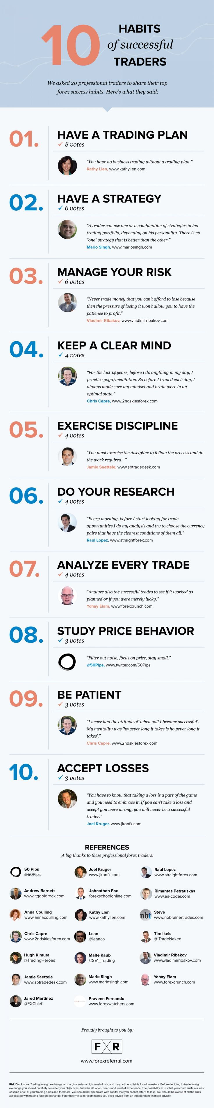 10 forex tips