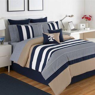 IZOD Classic Stripe 4-piece Comforter Set