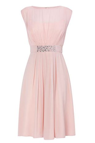 Amelia Pink Bridesmaid Dress - BHS £85