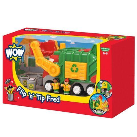 Fred segítségével a szemét összegyűjtése is igazán mókás feladat lesz. A zöld testű jármű ugyanis játékosan tanítja meg velünk a szelektív hulladék gyűjtés fontosságát, így már egészen apró kortól kezdve oda tudunk figyelni környezetünk meg ...