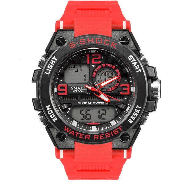 Reloj de Hombre Deportivos Relojes Deportivos Color Rojo y Negro Mens  Watches  Unbranded  Casual 88ba3f045c8c