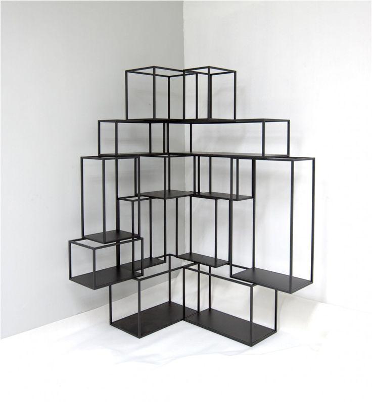 étagère fil metal