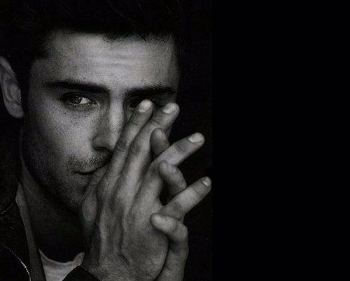 Black and white.   Zac...