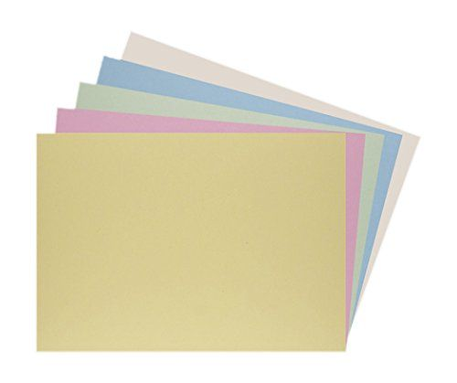 House Of Card Paper A3 220 Gsm Card Assorted Pastel Shades