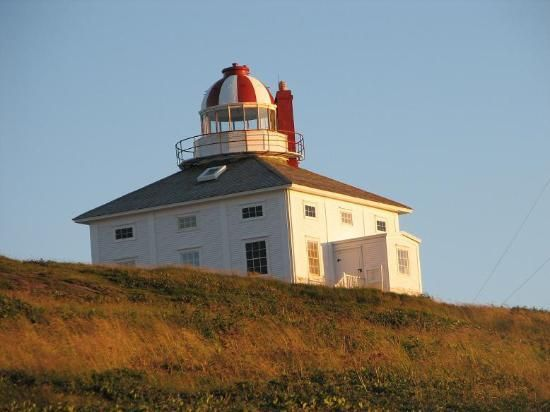 Old Cape Spear Lighthouse NL (Most Easterly point in No. America) I want to see the sunrise here; first place the sun touches in all of North America.