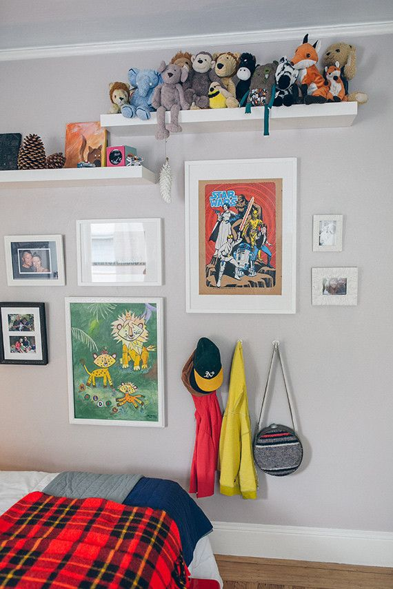 Woodsy, modern boys room for Holden (100 Layer Cakelet)