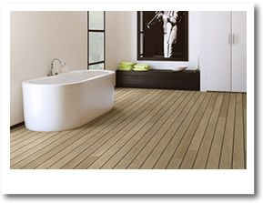 Bathroom Flooring - really like this colour and the gaps...