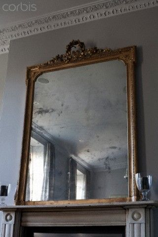 1000 ideas about mirror above fireplace on pinterest