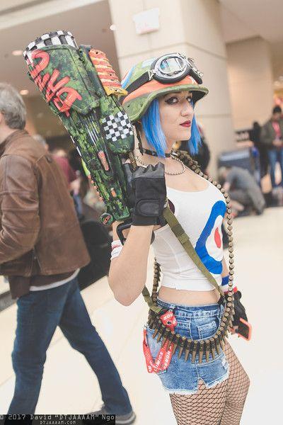 Tank Girl #cosplay at C2E2 2017, PC: DTJAAAAM
