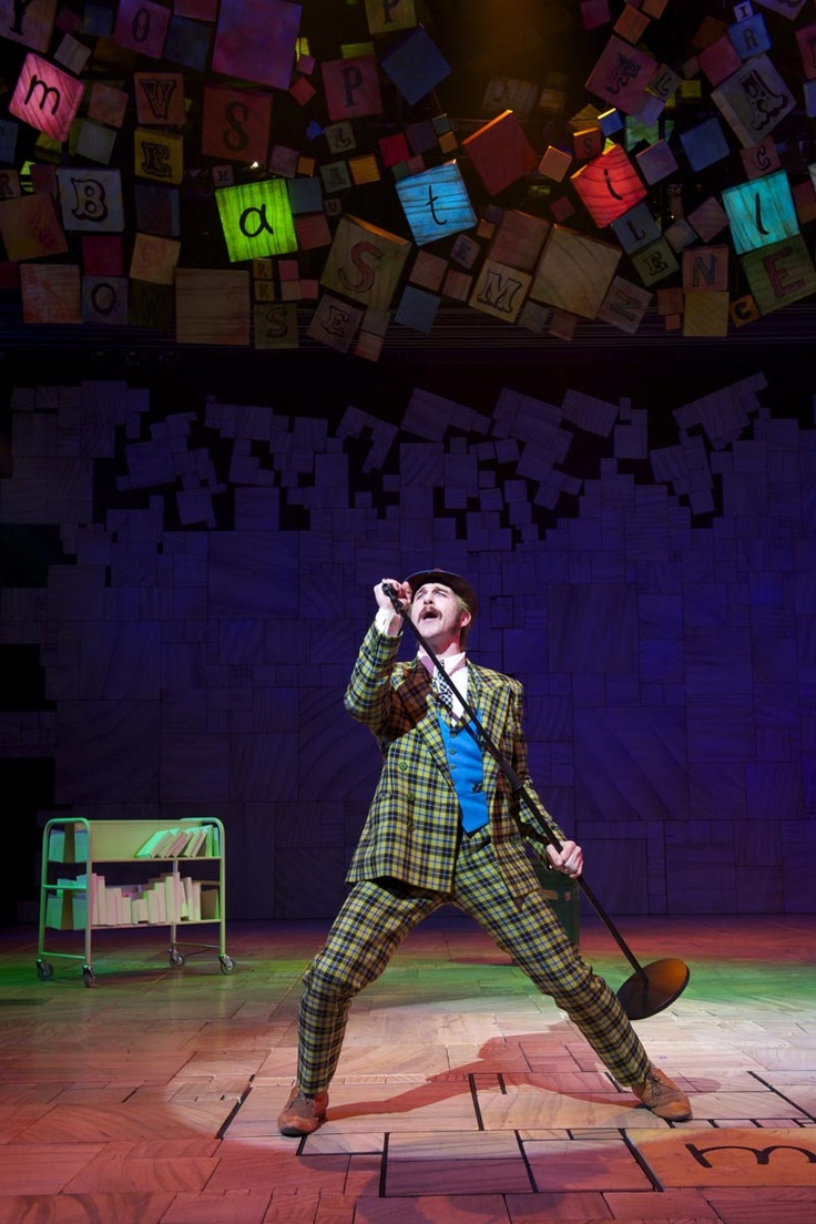 Matilda the Musical - Mr. Wormwood
