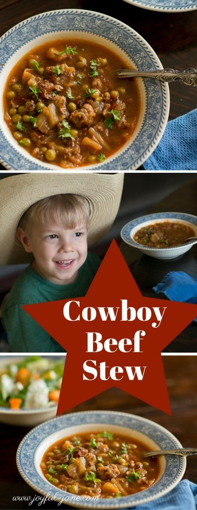 Cowboy Beef Stew  (THM S), Low Carb